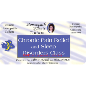 Chronic pain relief and sleep disorders audio class
