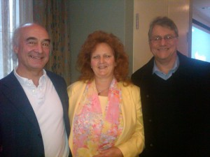 Ellen Fowler Bench with Jan Scholten and Louis Klein