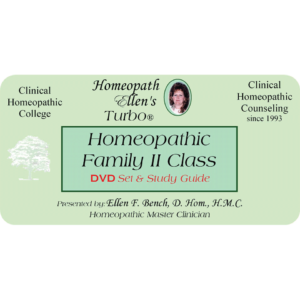 Homeopathic Family 2 Audio DVD Class
