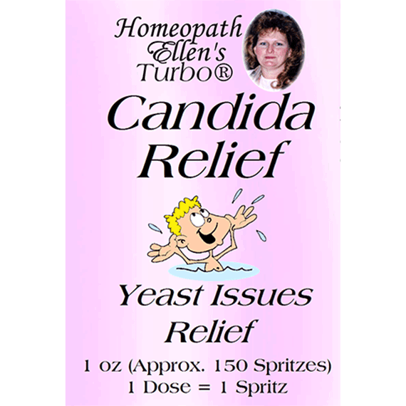 Candida Relief Yeast Issues Spritz