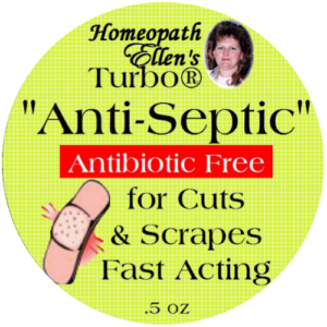 Homeopathic anti-septic cream