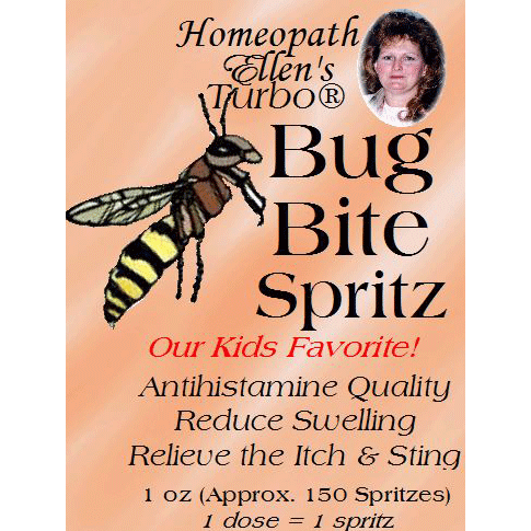 Homeopathic Bug Bite Spritz