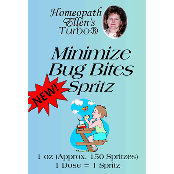Homeopathic Minimize Bug Bites Spritz