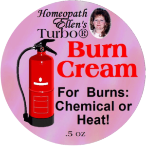 Homeopathic Burn Relief Cream