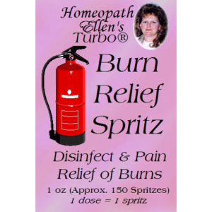 Homeopathic Burn Relief Spritz