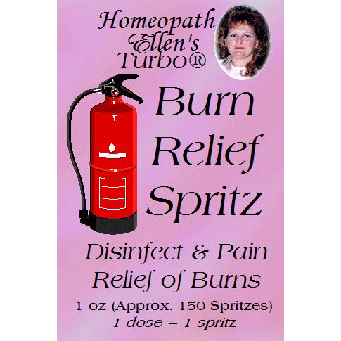 Homeopathic Burn Relief Spritz