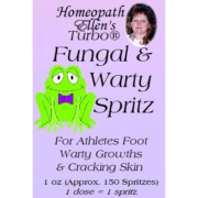 Homeopathic Fungal and Wart Spritz
