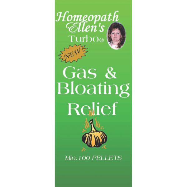 Homeopathic Gas and Bloating Combo Pellets