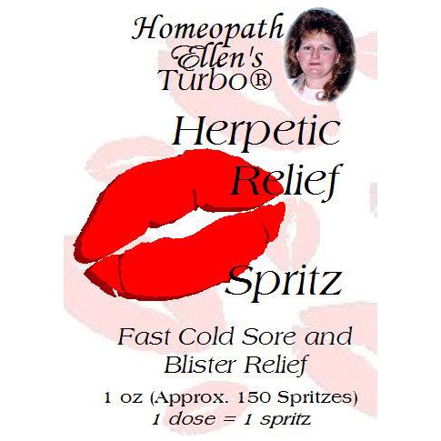Homeopathic Herpetic Relief Spritz