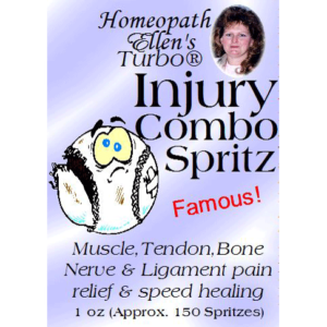Homeopathic Injury Combo Spritz