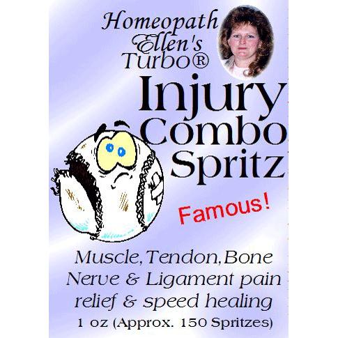 Homeopathic Injury Combo Spritz