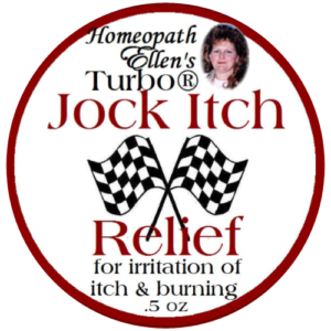 Jock Itch Relief Homeopathic Cream