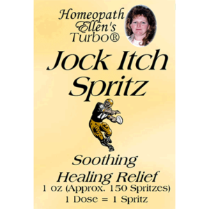 Jock Itch Homeopathic Relief Spritz