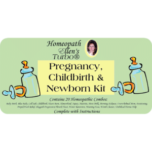 Pregnancy Childbirth and Newborn Homeopathic Kit