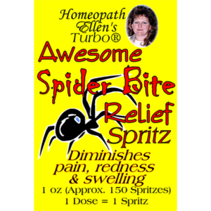 Homeopathic Spider Bite Relief Spritz
