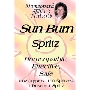 Homeopathic Sunburn Relief Spritz