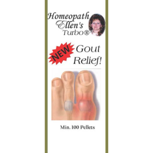 Homeopathic Gout Relief Pellets