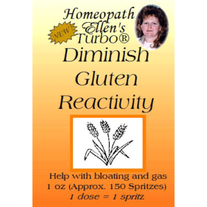 Diminish gluten reactions naturally spritz