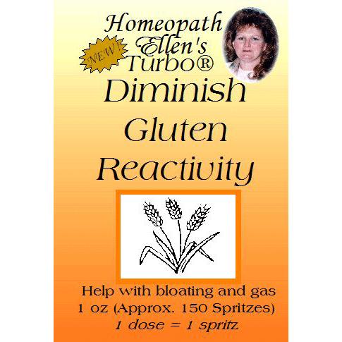 Diminish gluten reactions naturally spritz
