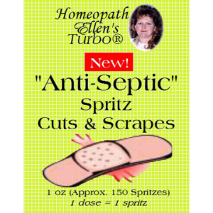 Homeopathic Anti-septic Spritz