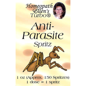 Professional Homeopathic Anti-Parasite Spritz Remedy
