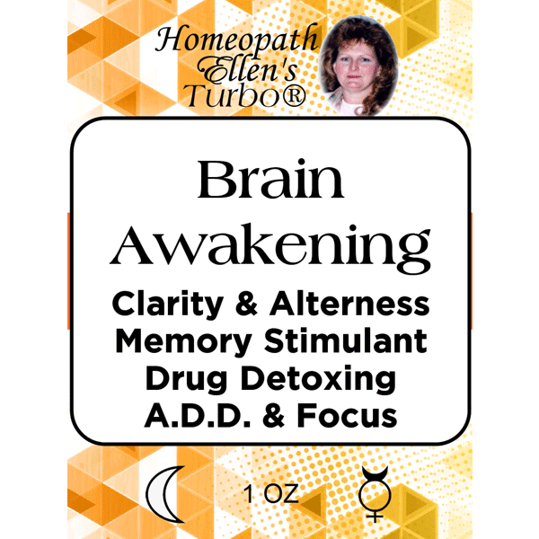 Brain awakening and clarity tonic.