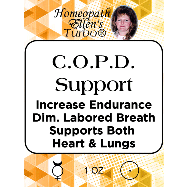Homeopathic COPD Support Tonic