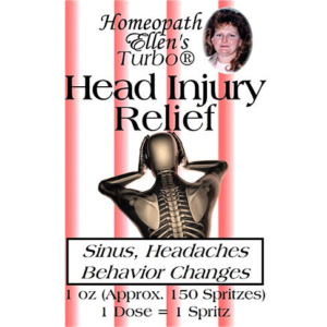 Professional Homeopathic Head Injury Relief Spritz