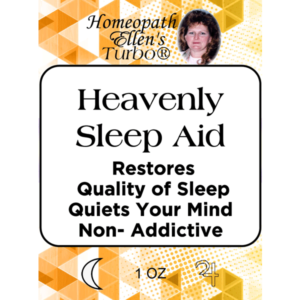 Homeopathic Heavenly Sleep Aid Tonic