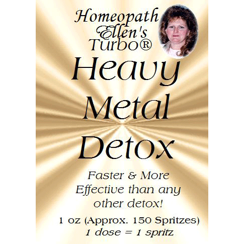 Professional Homeopathic Heavy Metal Detox Spritz Remedy