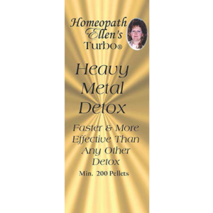 Professional Homeopathic Heavy Metal Detox Combo Pellets