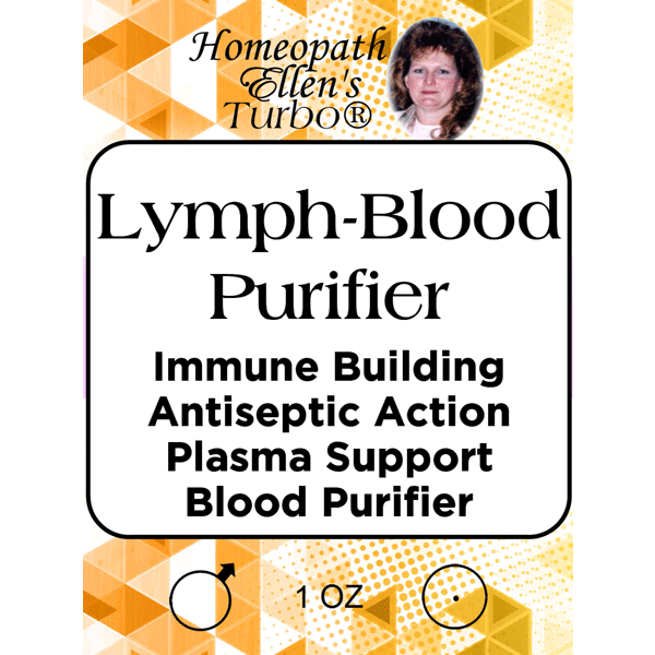 Homeopathic Lymph-Blood Purifier Tonic