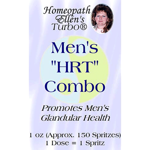 Professional Homeopathic Mens HRT Combo Spritz