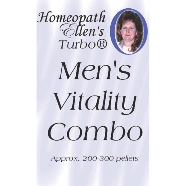 Professional Homeopathic Mens Vitality Combo Pellets