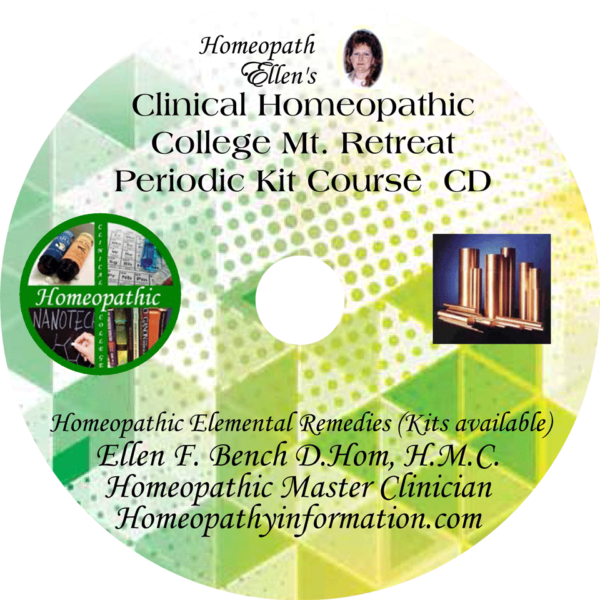 Professional Homeopathic Periodic Kit Audio CD Retreat Class