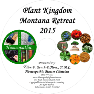 Professional Homeopathic Plant Kingdom Audio CD