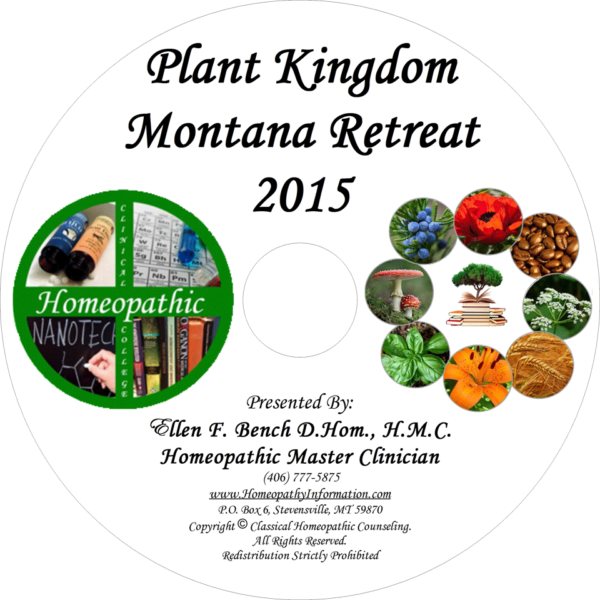 Professional Homeopathic Plant Kingdom Audio CD
