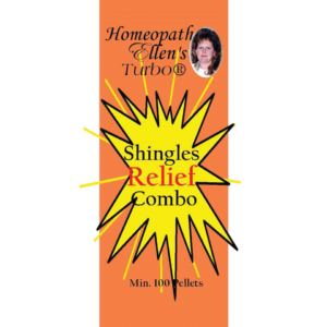 Professional Homeopathic Shingles Relief Combo Pellets