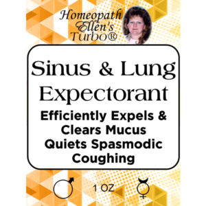Sinus and Lung Expectorant Tonic