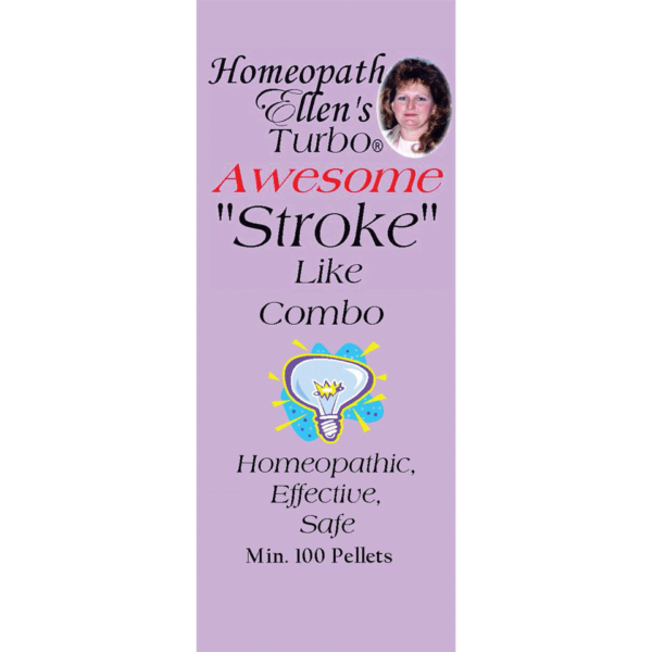 Homeopathic stroke-like remedy
