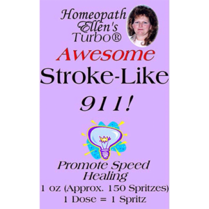 Professional Homeopathic Stroke-Like Spritz Remedy