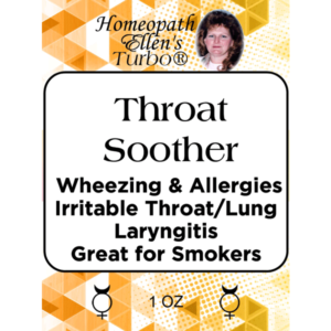 Throat Soother Homeopathic Tonic