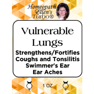Vulnerable Lungs Homeopathic Tonic