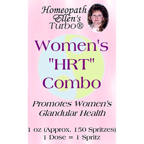 Professional Homeopathic Womens HRT Combo Spritz