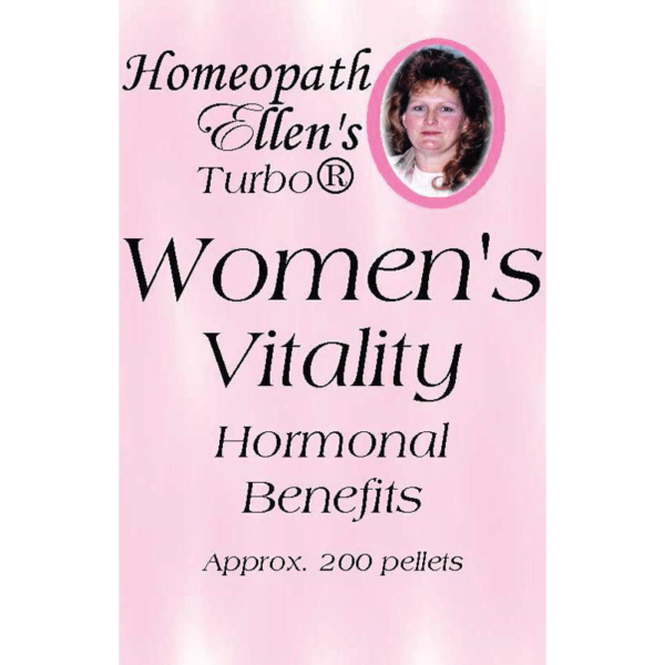 Professional Homeopathic Women's Vitality Combo Pellets