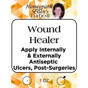 Homeopathic Wound Healer Tonic