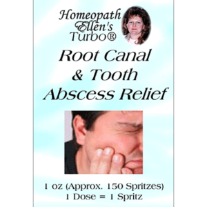 Homeopathic Root Canal Abscess Tooth Spritz