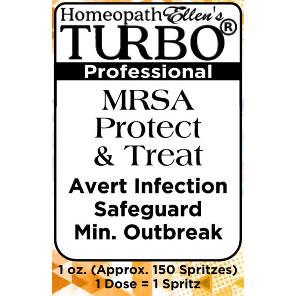 Homeopathic MRSA Protect & Treat Combo Spritz Remedy