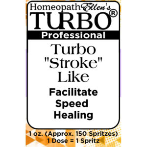 "Turbo ""Stroke"" Like Combo Spritz Remedy"