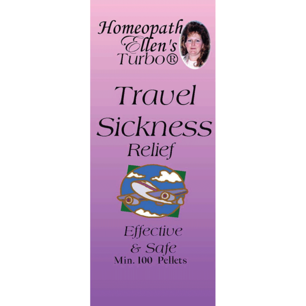 Homeopathic Travel and Motion Sickness Relief Pellets